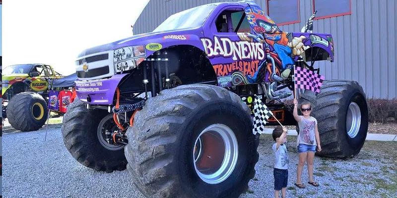 Monster Trucks Invade New Jersey Motorsports Park New Jersey Motorports Park